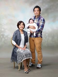 横須賀・柳田写真館・撮影・お宮参りカジュアル