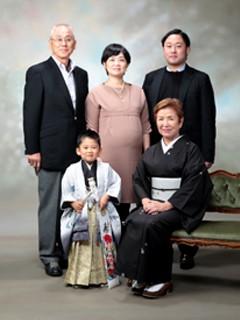 横須賀・柳田写真館・撮影・七五三・ご家族