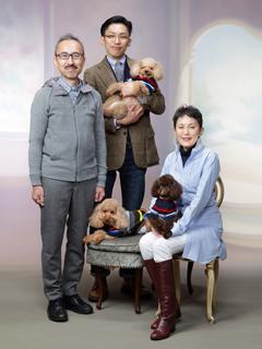 ご家族記念写真(ペットとご一緒もどうぞ)のイメージ