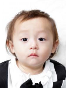 横須賀・柳田写真館・撮影・赤ちゃん証明写真